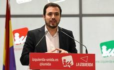Alberto Garzón: «La situación en Asturias está normalizada. La única anomalía era la de Llamazares»