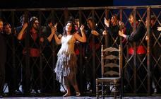La fuerza de 'Carmen' llega a Oviedo