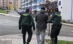 Detenida la banda acusada de destrozar más de 60 coches en Asturias