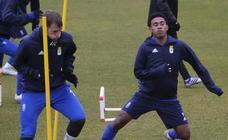 Entrenamiento del Real Oviedo (22-01-2019)