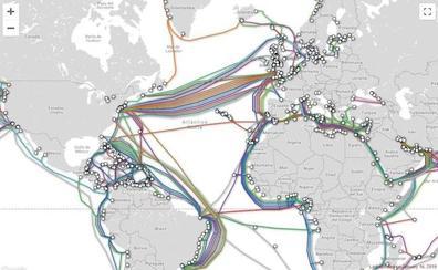 Así se conecta en red el mundo