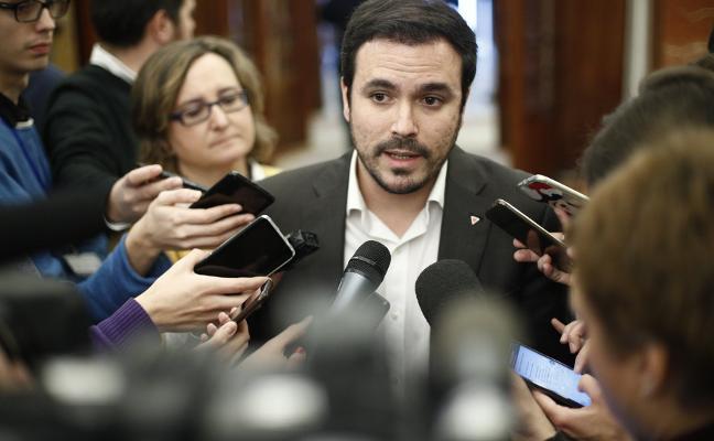 Garzón e IU de Asturias se dan una tregua temporal y aparcan la hipótesis de una escisión