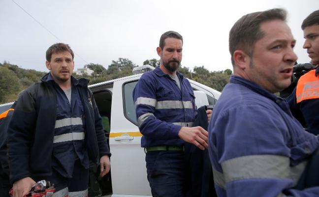 «Si está duro para la máquina, imagínate para el brazo», dicen los mineros asturianos en Totalán