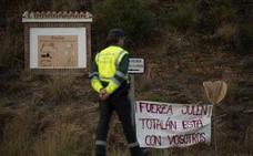 La carta de un guardia civil desde Totalán: «Sentimos el aliento de España entera»