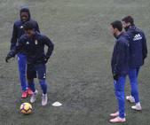Entrenamiento del Real Oviedo (23-01)