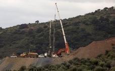 Los mineros asturianos en Totalán: «Seguimos velando armas»