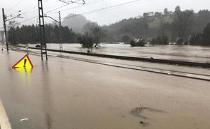 El temporal deja un reguero de daños en el Oriente
