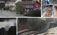 Cuatro muertos y caos en las comunicaciones por el temporal