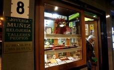 Nuevo asalto en una joyería en el barrio gijonés de La Calzada