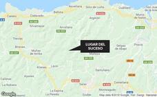 Muere un hombre de 42 años al caer 500 metros con su coche en Salas