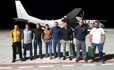 Los mineros ya están en Asturias: «Trabajamos lo mejor que pudimos en el rescate de Julen»