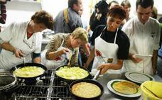 Así preparan la tortilla española en Estados Unidos
