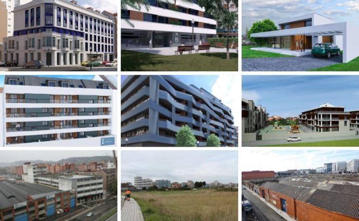 Actuaciones que activará la aprobación del nuevo PGO de Gijón