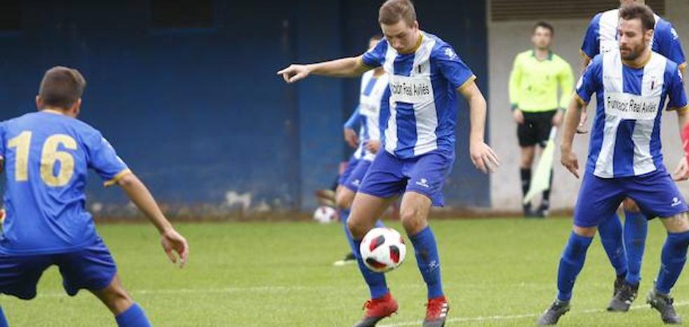 El Avilés acaba goleado en el Nuevo Nalón (3-0)