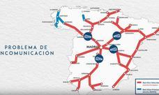 Foro inicia una campaña para pedir para Asturias «el mismo AVE que el resto de españoles»