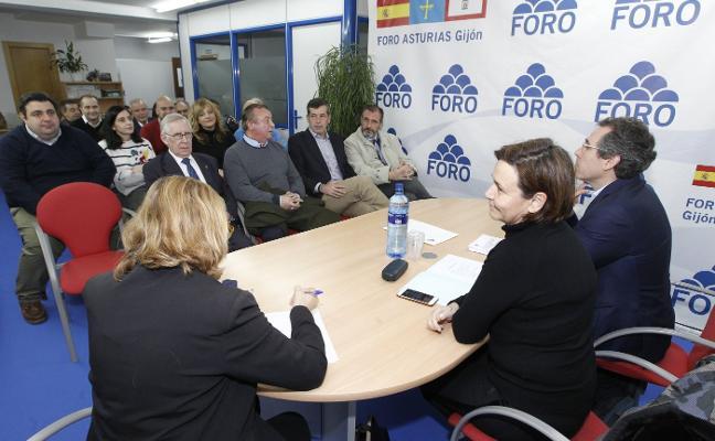 Aparicio se lanza a las primarias de Foro y Muñiz espera apoyos para decidirse
