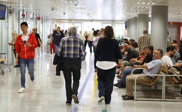 La presión asistencial por la gripe obliga a Cabueñes a instalar 58 camas extra
