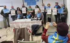 Asociaciones de pensionistas convocan protestas este sábado en varias localidades de Asturias
