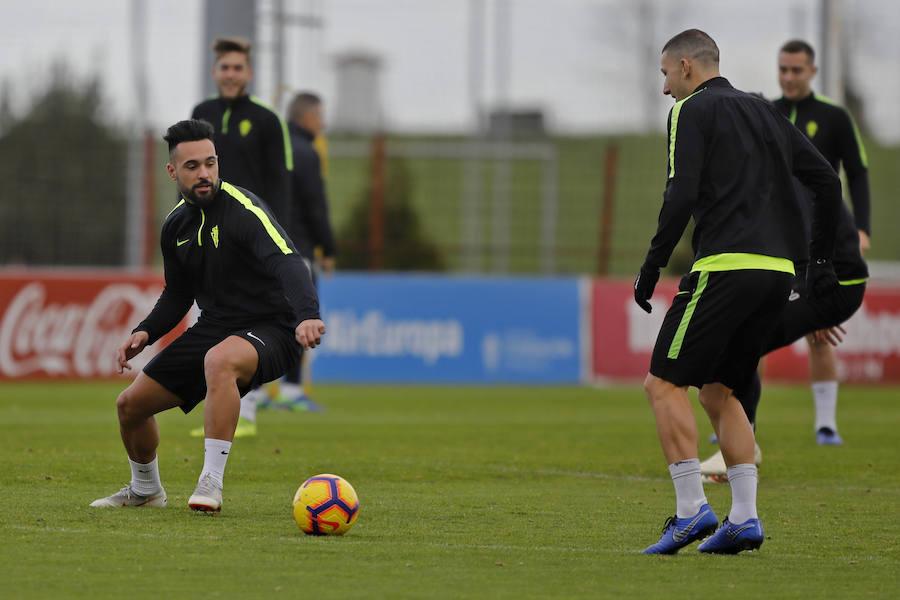 Presentación de Ivi López y Aitor García como nuevos jugadores del Sporting