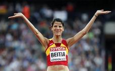 Ruth Beitia, bronce olímpico en Londres 2012 tras la sanción a la rusa Shkolina