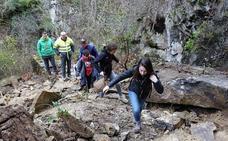 De Asturias a León por el argayu
