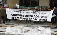 «No abandonaremos la calle mientras no haya soluciones», advierten los pensionistas en Asturias