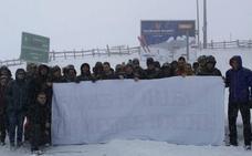 «Seguimiento total de la huelga en Pajares», afirma la plantilla