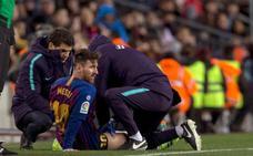 El Barça, más líder, pero pendiente de Messi