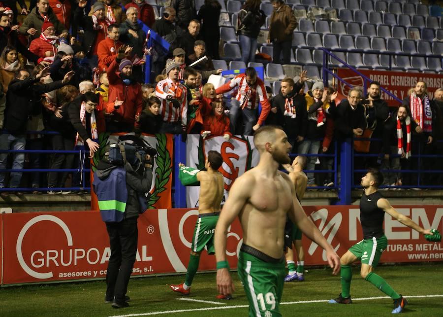 Extremadura 0-3 Sporting