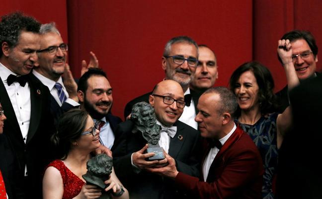 Jesús Vidal, el campeón de los Goya
