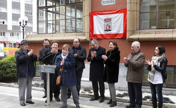 Gijón reconoce la labor de Purificación López, quien dirigió el Hogar Maternal