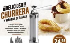 Churrera y máquina de pastas ibili