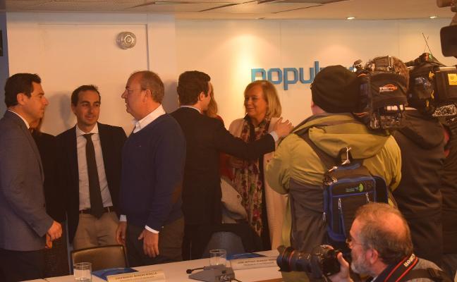 Génova da por zanjada la crisis en el PP de Asturias y llama a derrotar al PSOE