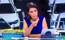 Ana Pastor pilla en un tremendo renuncio a un representante de los taxistas en Madrid