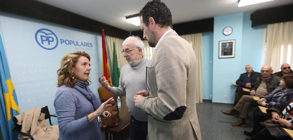 Teresa Mallada denuncia la «falta de compromiso» del Principado con Castrillón