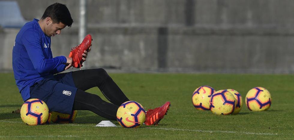 Javi Muñoz: «Siempre que se me necesite, estaré preparado para jugar»