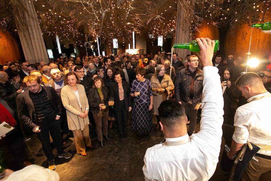 'La espichona' reivindica la sidra asturiana