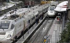 Los trenes entre León y La Robla irán durante un año a 30 por hora por las obras del AVE
