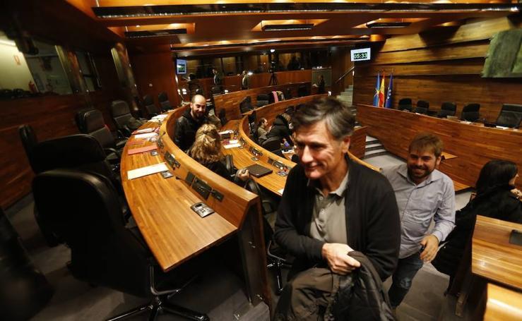 El Parlamento asturiano, desalojado por un simulacro