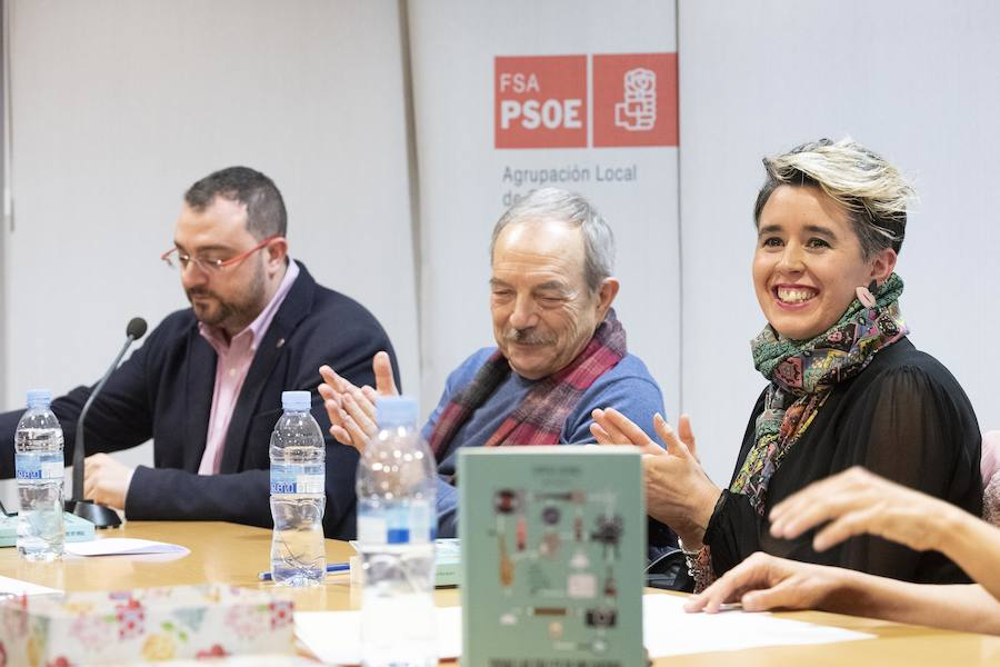 La galerista Lucía Falcón presenta su libro