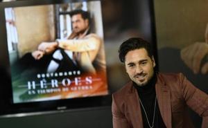 David Bustamante iniciará en Gijón la gira de 'Héroes en tiempos de guerra'