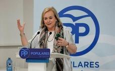 Mercedes Fernández llama a los asturianos a participar en la concentración de mañana en defensa de la unidad de España