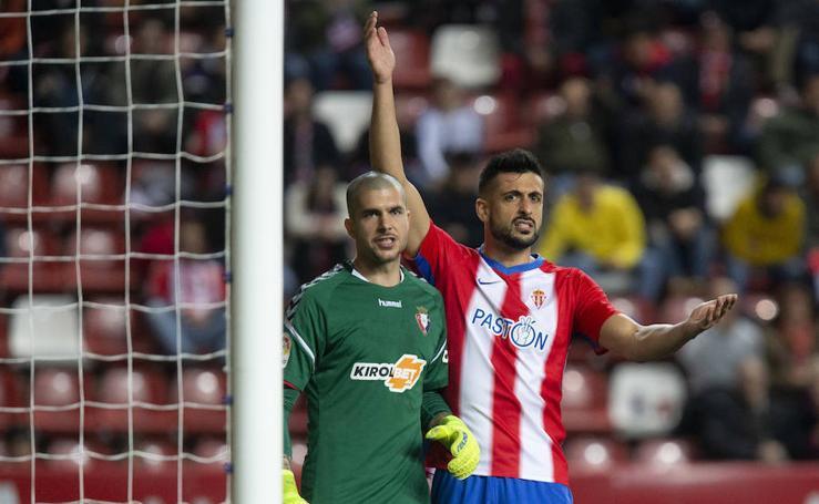 Las mejores imágenes del Sporting-Osasuna (0-2)