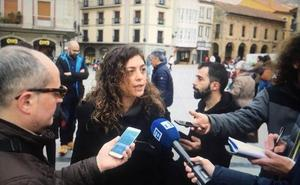 Tania González, candidata de Podemos a encabezar la lista electoral de Cambia Avilés