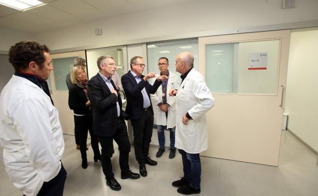 Suecia se fija en el HUCA para diseñar uno de sus hospitales