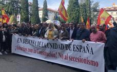 La derecha asturiana se une para protestar en Oviedo contra el PSOE