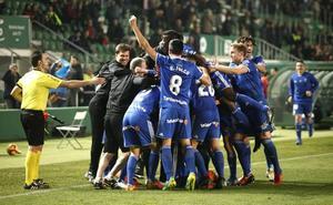 El Oviedo se mete en 'play off'