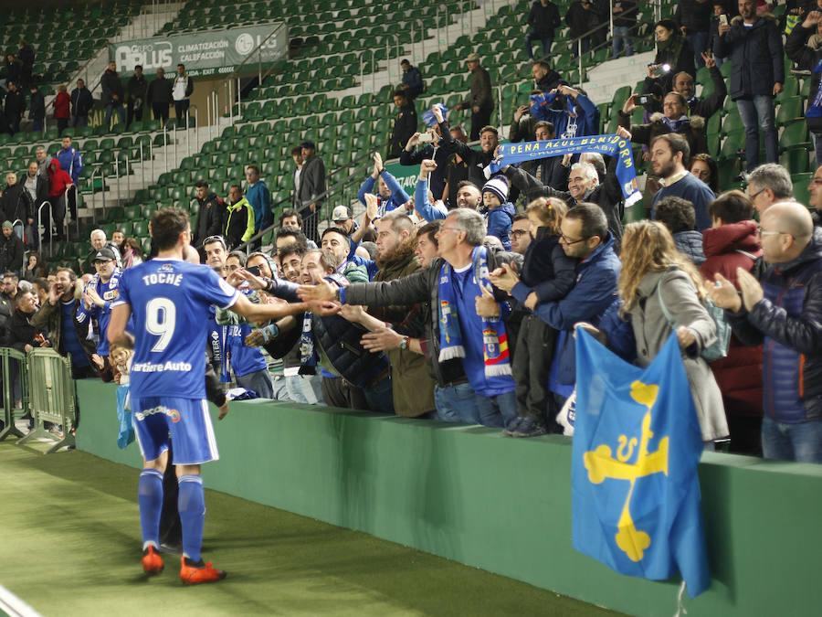 Elche 1-2 Real Oviedo, en imágenes