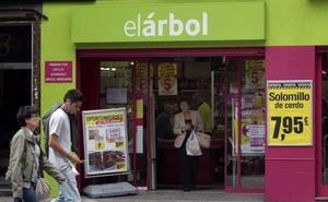 Dia cerró doce de los 103 supermercados que compró a El Árbol en Asturias