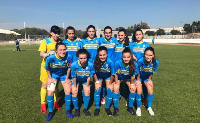 Doble victoria de los equipos femeninos de Asturias